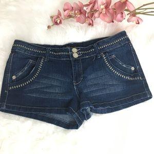 Eighty Eight dark blue denim shorts SZ 13